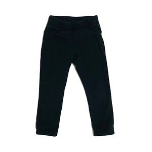 Jumping Beans Black Pants 2T